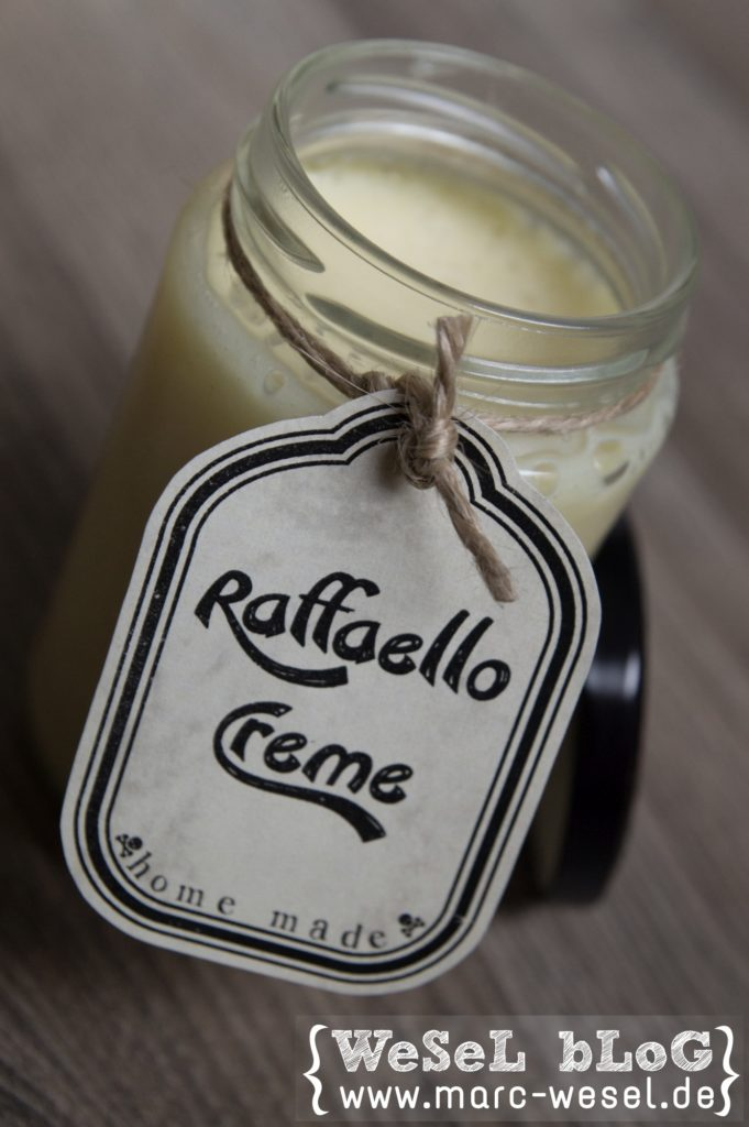 raffaello creme brotaufstrich diy handlettering plotten. Black Bedroom Furniture Sets. Home Design Ideas