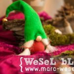 DIY Adventskranz - Wichtel