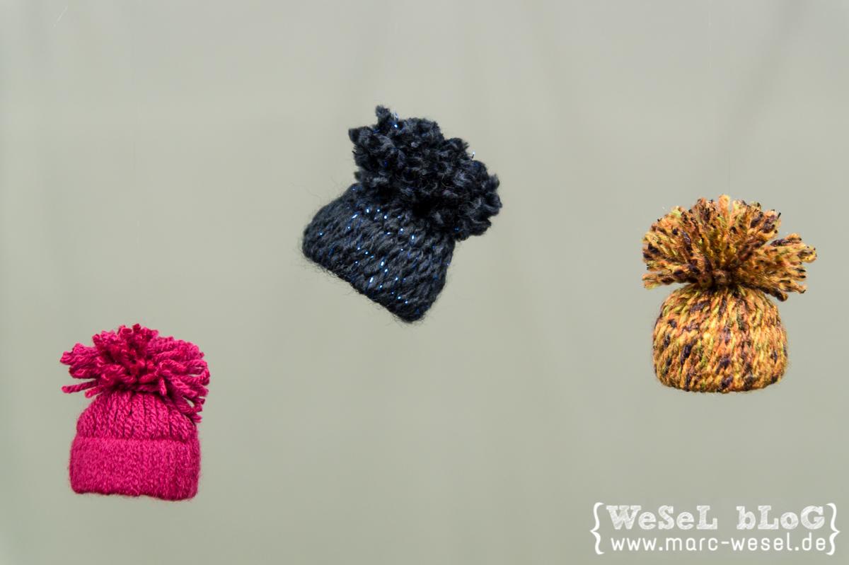 Wintermützchen - DIY Deko