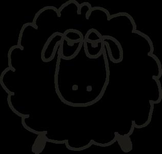 Skizze Schaf / Zeichnung Schaf