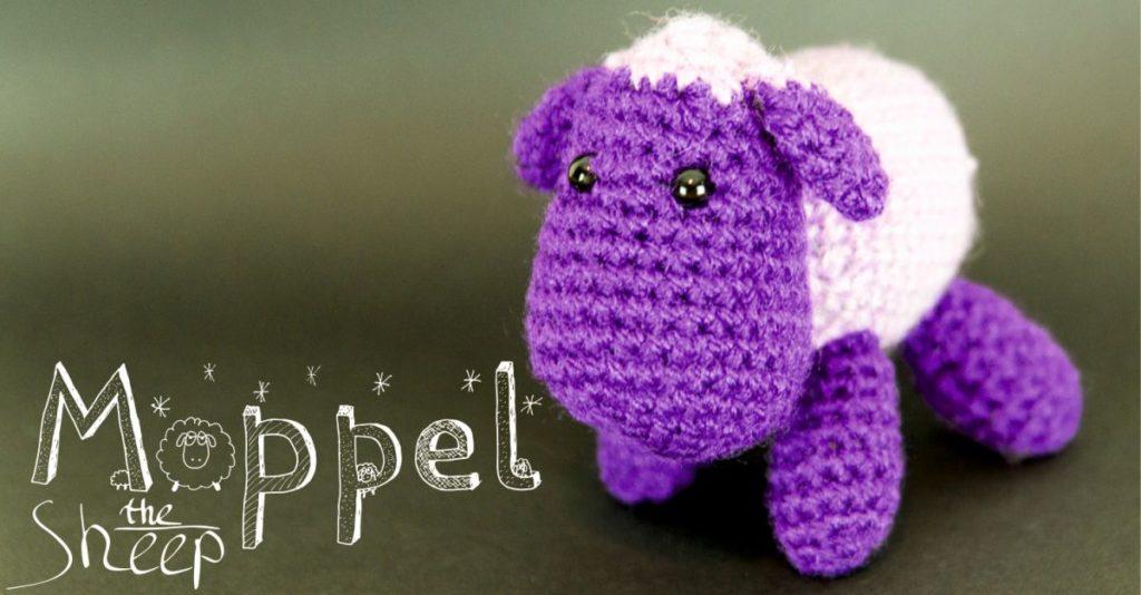 Moppel The Sheep Kostenlose Amigurumi Schaf Häkelanleitung Wesel