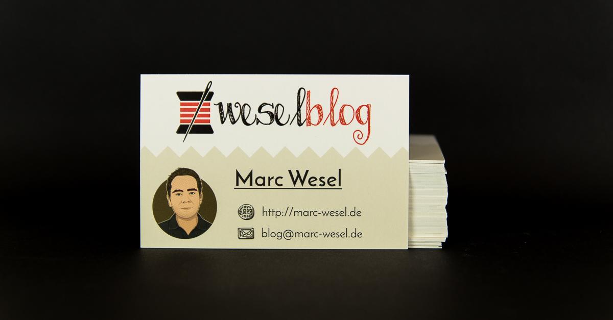 Visitenkarten für den Blog – freebie