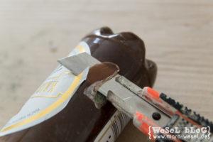 Bierflasche aus Beton