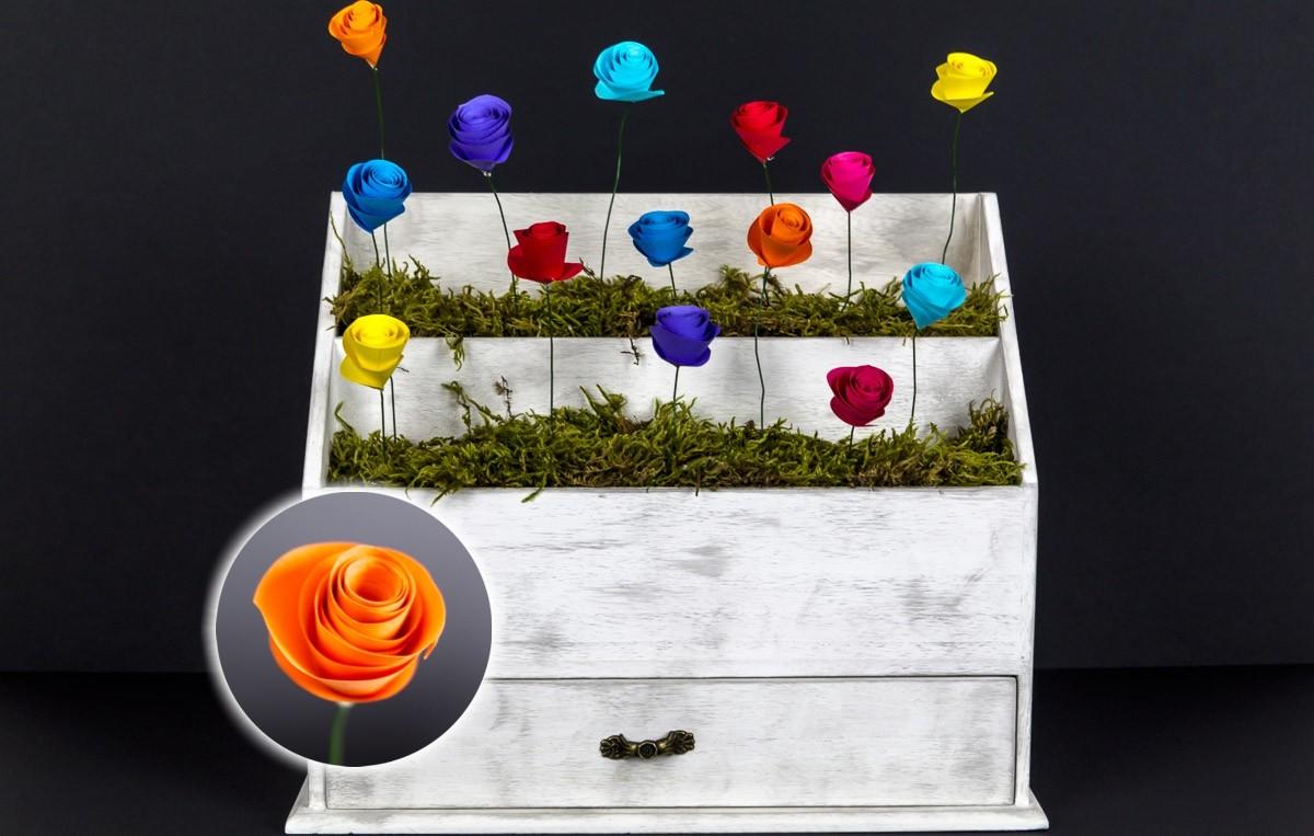 🌼 Deko-Idee aus Papierblumen *Gastbeitrag*