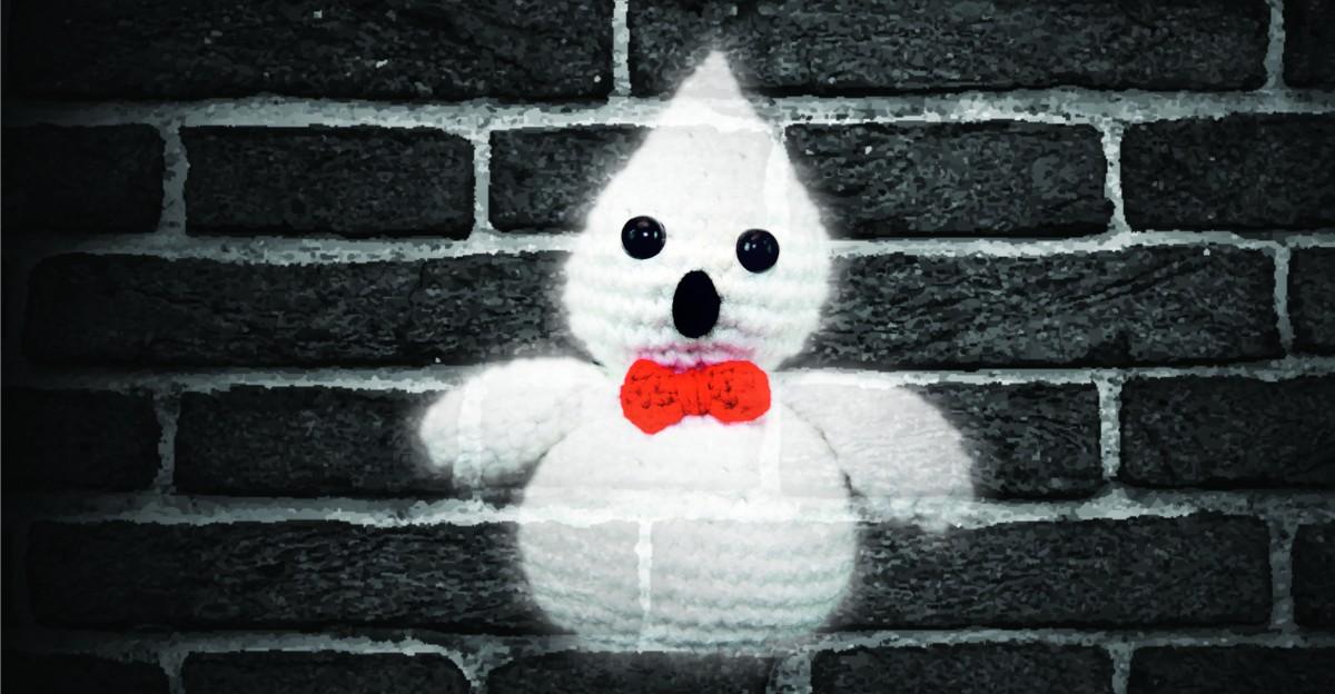 Geist Häkeln für Halloween - Spooky