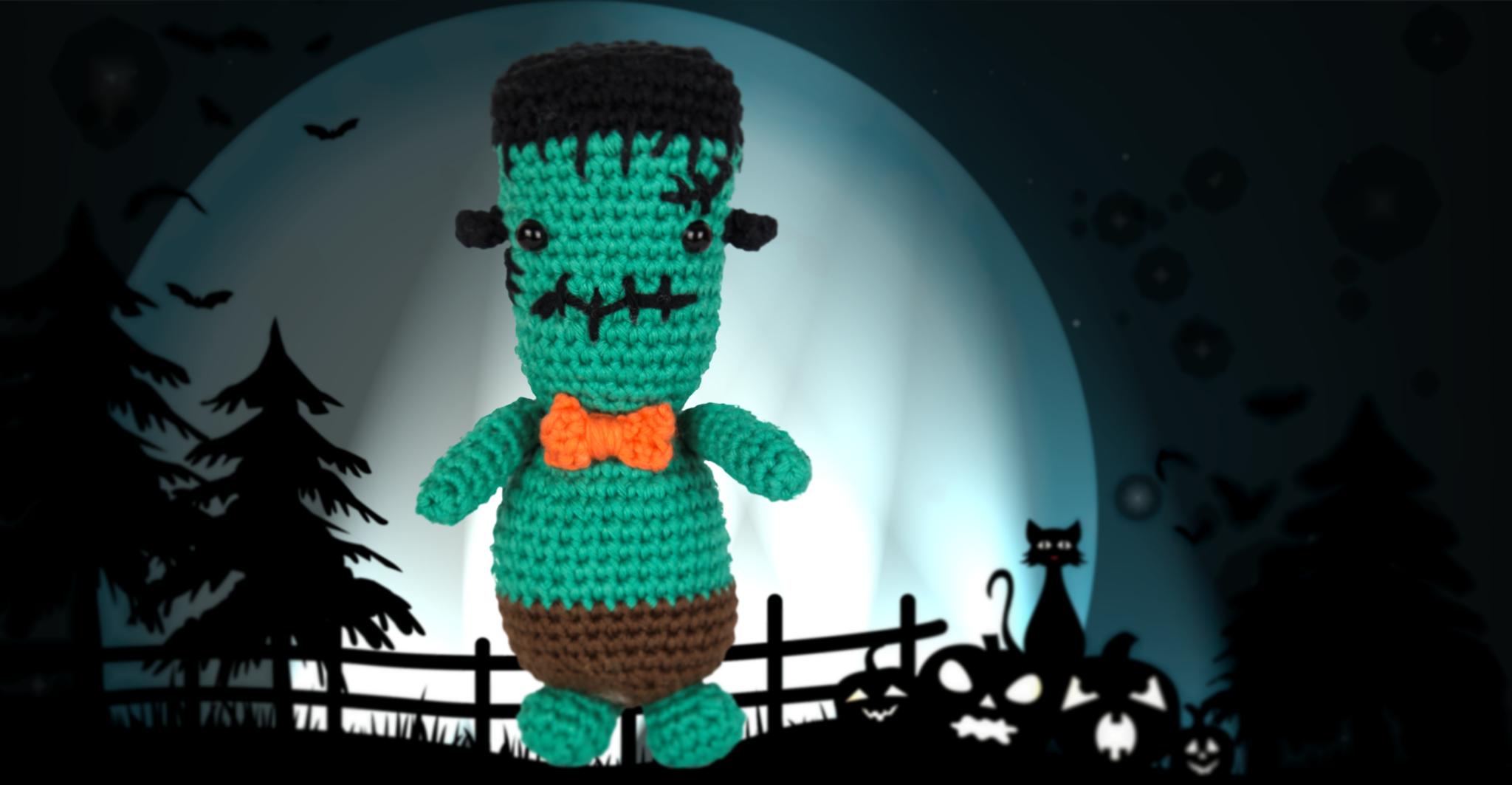 Gehäkeltes Monster à la Frankenstein *cute*