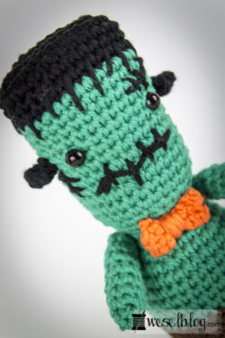 Halloween-Frankenstein-Gehäkelt