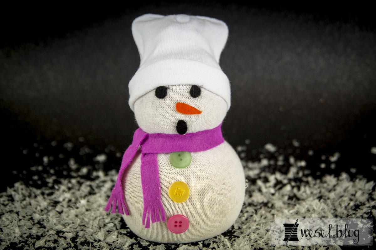 Socken Schneemann Mr. Frosty