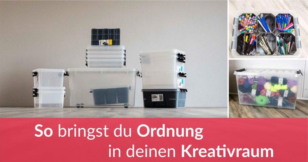 Orthex - SmartStore - Ordnung im Kreativraum