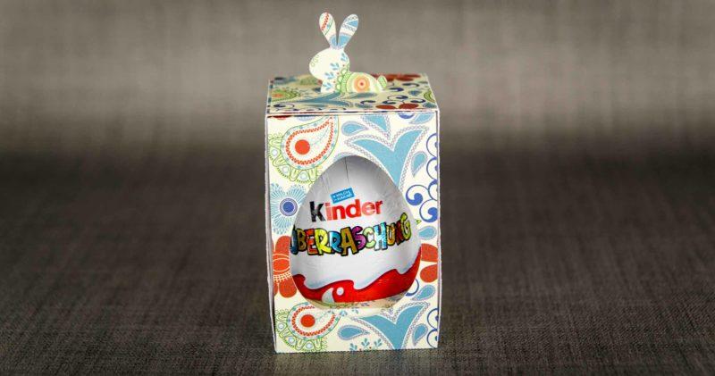 Geschenkbox für Überraschungseier