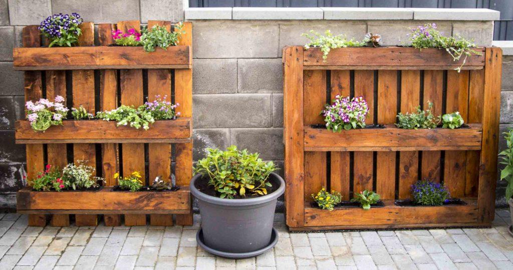 Anleitung Blumenkasten Aus Paletten Paletten Upcycling