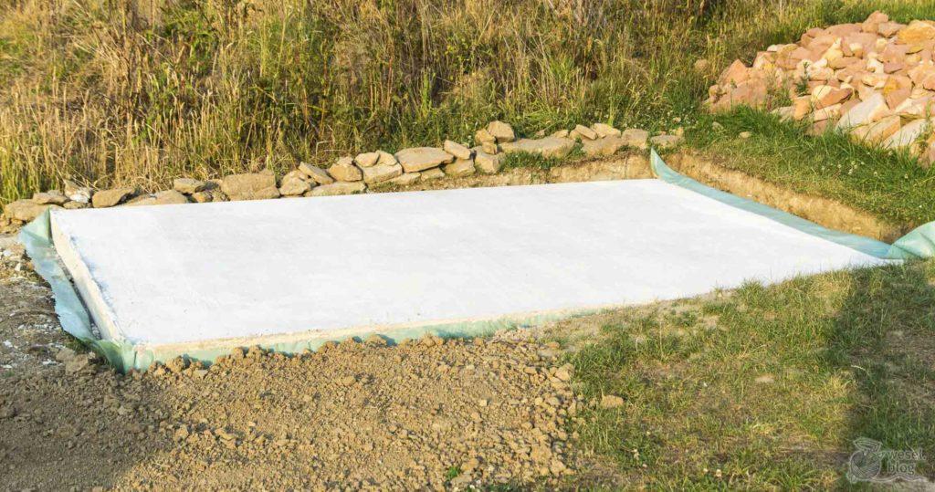 Top Wie du eine Bodenplatte betonieren kannst für dein Gartenhaus CA84