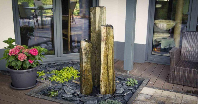 Quellsteinbrunnen aufbauen in 5 einfachen Schritten