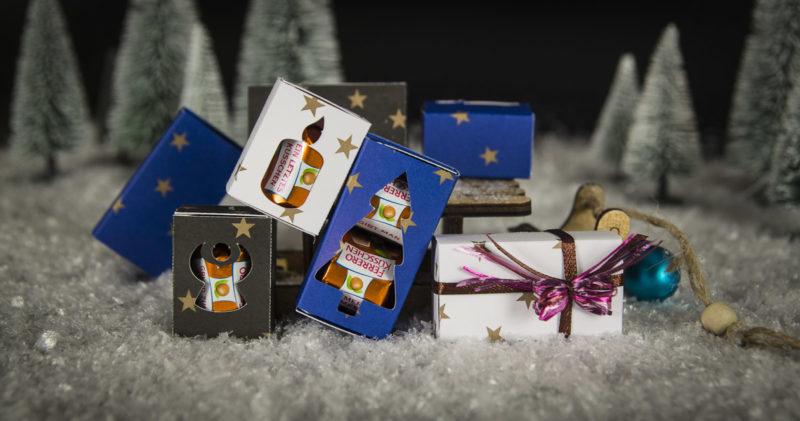 Geschenkschachtel für Pralinen *Plotter-Freebie*
