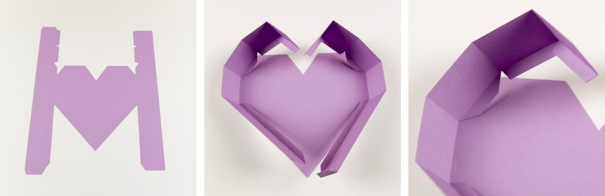 Herz-Schachtel Anleitung