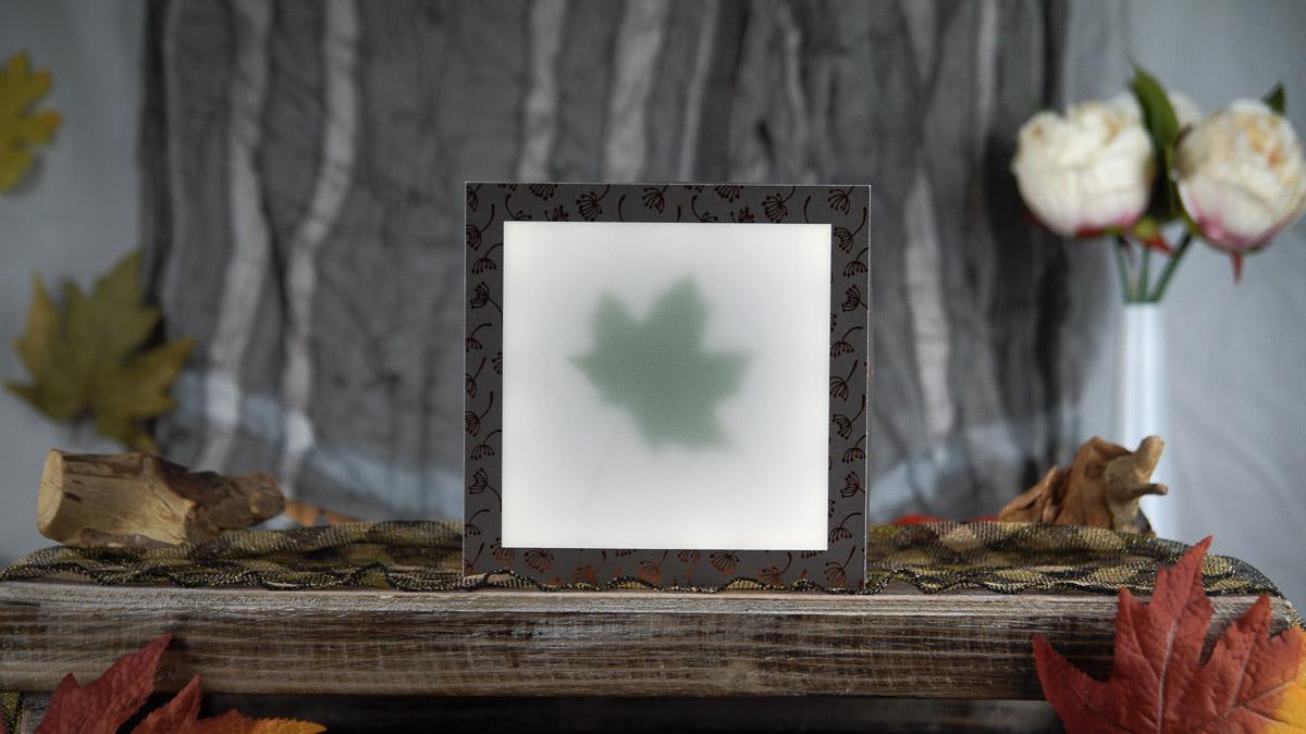 beleuchtete bilder selber machen unschlagbar einfach. Black Bedroom Furniture Sets. Home Design Ideas