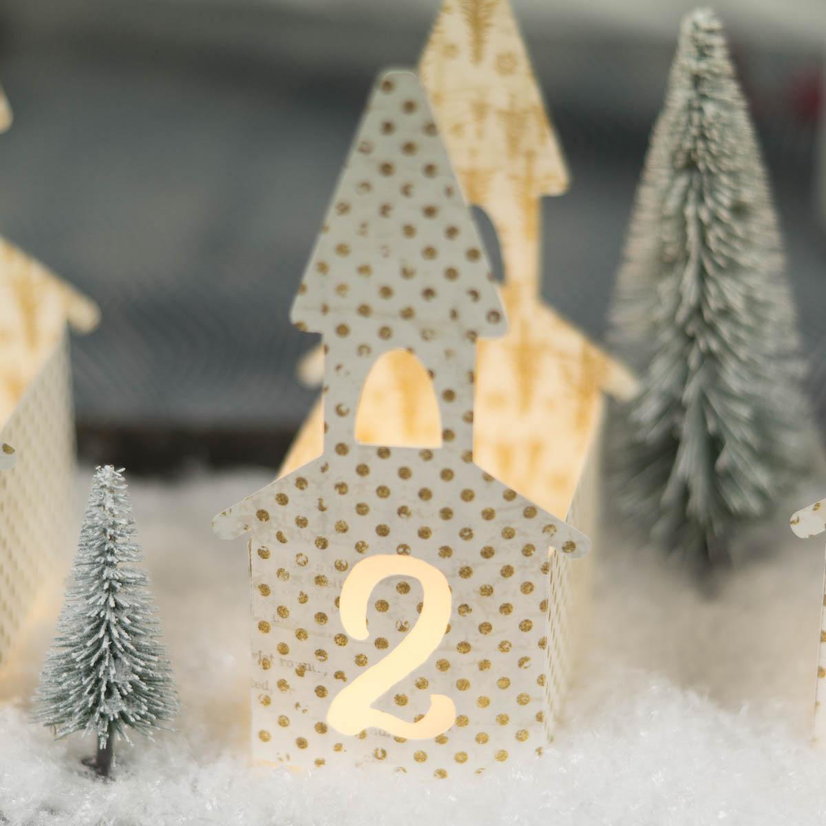 Genial: DIY Adventskranz selber machen modern und stilvoll